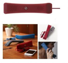 RED Handset Soft Feel For Mobile Phone Computer iPhone iPad Laptop Voip Skype